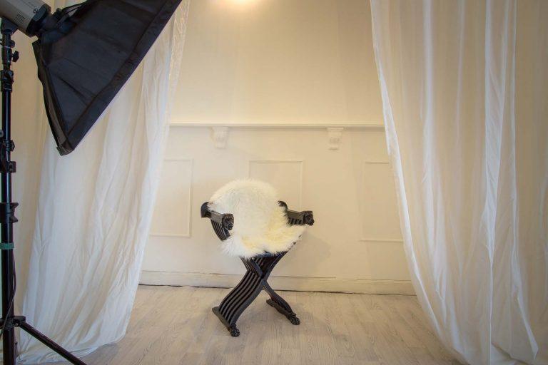 Studio Fotografie Scene Stuhl